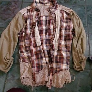Button down flannel from buckle